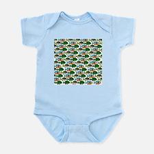 School of Sunfish fish Infant Bodysuit