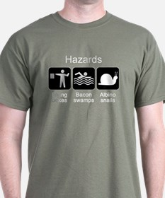 Geocaching Hazards T-Shirt
