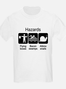 Geocaching Hazards T-Shirt