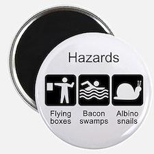 Geocaching Hazards Magnet