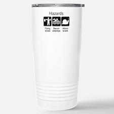 Geocaching Hazards Stainless Steel Travel Mug