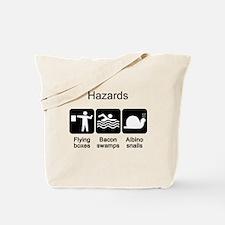 Geocaching Hazards Tote Bag