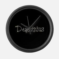 Demetrius Spark Large Wall Clock