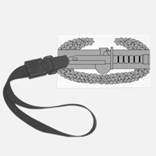 Combat Action Badge Luggage Tag