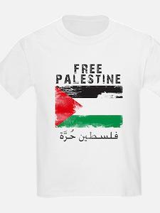 Free Palestine ( filistin hur T-Shirt