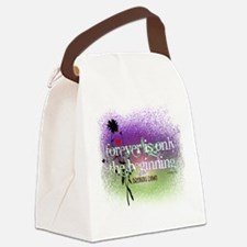 Breaking Dawn Forever Twilight Canvas Lunch Bag