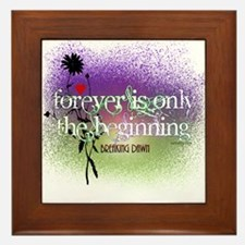 Breaking Dawn Forever Twilight Framed Tile