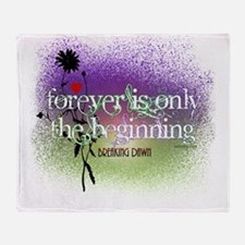 Breaking Dawn Forever Twilight Throw Blanket