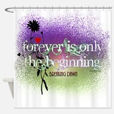 Breaking Dawn Forever Twilight Shower Curtain