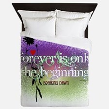 Breaking Dawn Forever Twilight Queen Duvet