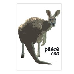 Peace Roo Postcards (Package of 8)