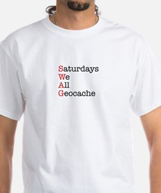Saturdays we all geocache Shirt