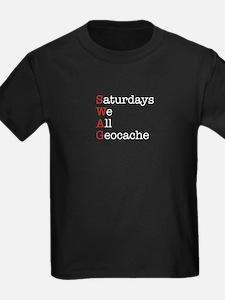 Saturdays we all geocache T