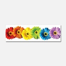 Cute Daisies Car Magnet 10 x 3