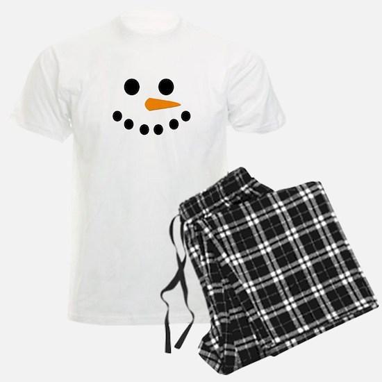 Snowman Face pajamas