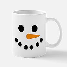 Snowman Face Small Mugs
