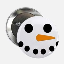 "Snowman Face 2.25"" Button (100 pack)"