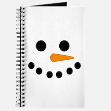 Snowman Face Journal