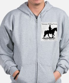 Cute Tennessee walking horses Zip Hoodie