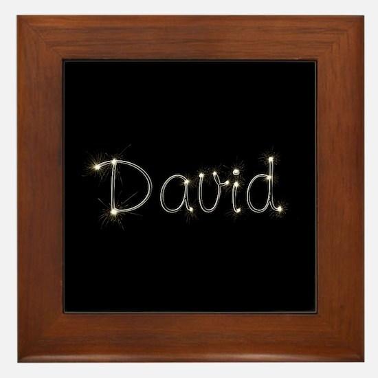 David Spark Framed Tile