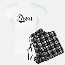 Deva, Aged, Pajamas