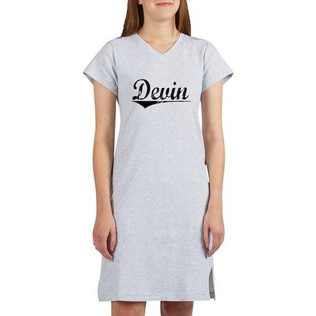 Devin, Aged, Women's Nightshirt