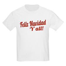 Feliz Navidad Yall T-Shirt