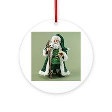 Daddy Nollaig Ornament (Round)