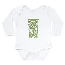 Angry Tiki! Long Sleeve Infant Bodysuit