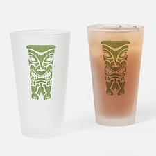 Angry Tiki! Drinking Glass