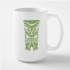 Angry Tiki! Large Mug