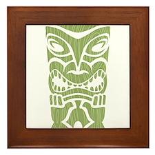 Angry Tiki! Framed Tile