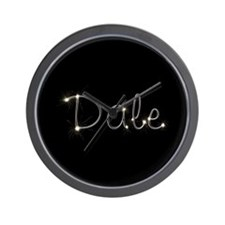 Dale Spark Wall Clock