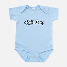 Efail Isaf, Aged, Infant Bodysuit