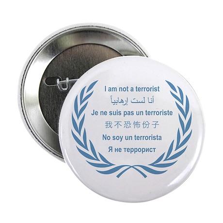 I am not a terrorist - UN Button