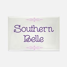 """""""Southern Belle"""" Rectangle Magnet"""