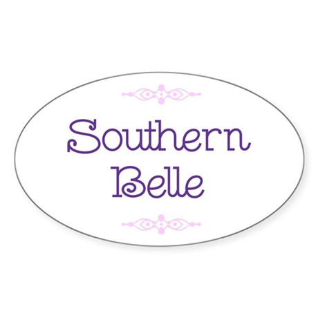 Southern belle oval decal by luscious ts for Southern belle coloring pages