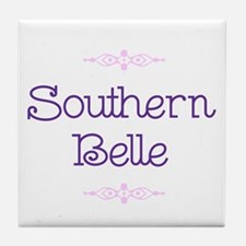"""Southern Belle"" Tile Coaster"