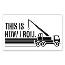 Crane Operator Bumper Stickers
