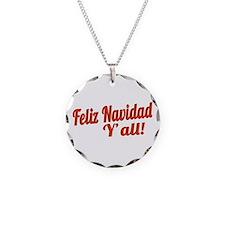 Feliz Navidad Yall Necklace