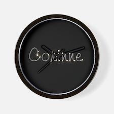 Corinne Spark Wall Clock