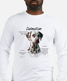 Liver Dalmatian Long Sleeve T-Shirt