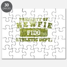 Personalized Property of Newfie Puzzle