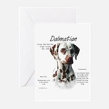 Liver Dalmatian Greeting Cards (Pk of 10)