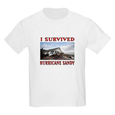 HURRICANE SANDY Kids Light T-Shirt