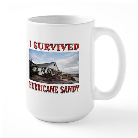 HURRICANE SANDY Large Mug