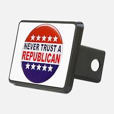 REPUBLICAN POLITICAL BUTTON Hitch Cover