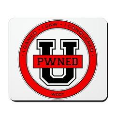 Pwned U (red) Mousepad