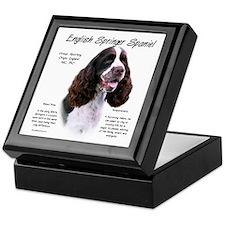 Liver English Springer Keepsake Box