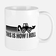 Backhoe Operator Mug